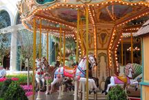 carousels / charm from yesteryear / by Susan Lawless