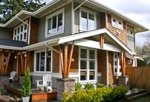 exterior house colors / by Sandy Sturdy