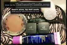 make-up & skin care / by Kelly Werry