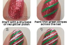 candy cane nail art tutorial & video gallery by nded / candy cane nail art tutorial & video gallery by nded  / by nded - nail art designs