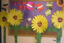 bulletin board ideas! / by Erika Cobb
