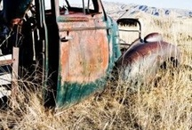 Abandoned Trucks / by Nic McClean