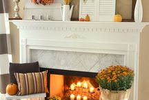 Fall Decor/Thanksgiving/Being thankful / Autumn decor Thanksgiving  / by Kathy Miller