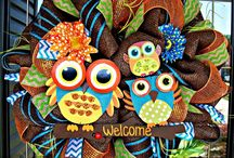 Owls  / by Ashley Drumright