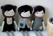 muñecas de trapo / by MilaMiloca -