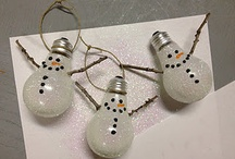 Christmas ornaments and crafts / by Kriste Falkner