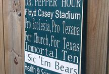 Sic 'em Bears! / All things Baylor! / by Suzan Brown