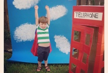 Forrest's Super Birthday / superhero party for my four year old. / by Kelly Garrison