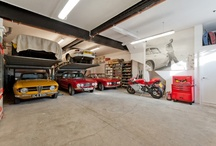 Garage, Shop, and MAN-CAVE / by Carl Ball
