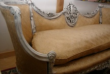 Furniture~Sofa~Chaise Longue~Settee / by Art by Wietzie
