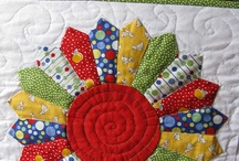 Quilt love Dresden plate and fans / by sue e