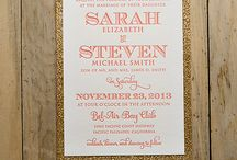 Coral and Gold Wedding / by Shelby Massa