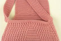 crochet bags  / by Roxann Conger