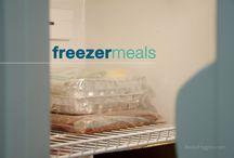 Freezer meals / by Brenda Sheffield