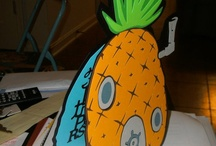 spongebob / For sale on etsy.com/PinkLeafCrafts / by Laura Hitt