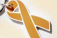 Appendix Cancer - Amber / Appendix Cancer is designated by the color amber. / by Choose Hope