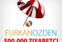 500.000 Ziyaretçi [İNFOGRAFİK] / by Furkan Özden