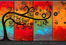Art - Canvas Beauty / Art that catches my eye and inspires me / by Jessica Rodriguez-Mullins