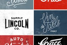 Logos & type / Inspiring logos and typography design / by Joost Buikema