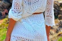 Crochet dresses, skirts, pants, shorts / by Melody Montgomery