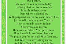 Prayers  / by Prayer Ministry