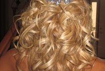 Wedding hair ideas / by Ashley Hojer