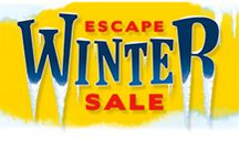 Escape Winter / The Escape Winter sale is now on Expedia.ca / by Expedia.ca