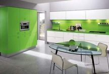 Modern Kitchen / Modern Kitchen, If you feel boring from spending lot of time in the kitchen, you can make an easy transformation from boring cooking area to cool, classy and contemporary cooking area, with just having modern kitchen. Make combinations of different colors in your modern kitchen will make a contrasting impact in your kitchen. / by kitchen designs 2014 - kitchen ideas 2014 .