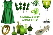 Life Instyle Green With Envy / by Moyarta. Elegant Entertaining.