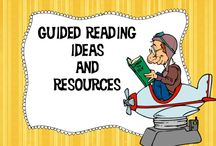 """Guided Reading (and More) Ideas and Resources / Do you need a new idea for guided reading? You've come to the right place! Lots of freebies and some great paid resources too will help you add a little """"spice"""" and excitement into your reading instruction! / by Dragon's Den Curriculum"""