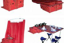 A camping we will go, hey ho the merry-o / by Marien Rutigliano
