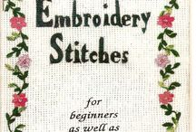 EMBROIDERY STITCHES / by connie mae milam