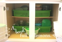 Organise: Kitchen / by Jenny Sutherland