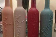 Wine bottles  / by MaryAnn Kocan