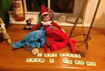 Naughty Elf on the Shelf ideas - Humorous! / by Angela Convery
