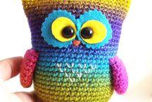 Owl art / by Odile