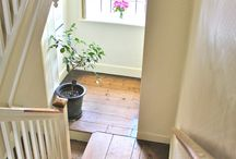 Entry Way & Stairs. / by Sarah Ray