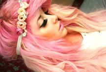 Amazing pink hair / by Shannon Skalla