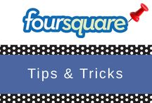 FOURSQUARE TIPS / There are now more than 500,000 businesses on Foursquare! Have you listed your business yet?  Follow this board to learn how to start marketing on Foursquare and how to set up a special. Follow our case studies, infographics, and valuable Foursquare resources when you click FOLLOW we'll keep you updated. Click LIKE on the pins you find valuable to let us know what information to keep coming your way.  Learn to market on Foursquare.  / by PuTTin' OuT Social Media Marketing