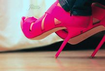 Fushia Shoes / by MariKamo Design