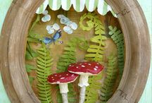 Mushroom Art / by Back to The Roots