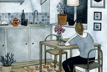 Illustration / by Rachel Rose Ulgado