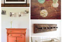 Decorating Inspiration - Nursery / by TabithaFJ -  The Prop Junkie