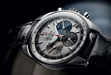 The legendary El Primero / Zenith earned fame thanks to its legendary El Primero calibre: an integrated automatic column-wheel chronograph movement launched in 1969 and endowed with a high frequency of 36,000 vibrations per hour that ensures short-time measurements accurate to the nearest 1/10th of a second, making it the world's most accurate series-produced chronograph to this very day. / by Zenith Watches
