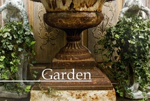 Antique Urns for the Garden...not ashes.  / Classic aged garden urns, honestly they're hard to find.... / by Random Guy