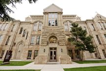 Reasons to be a Poke / Scenery around the Campus of University of Wyoming / by Wyoming Cowboys
