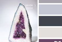 Living Room #6 / Living room greay and purple color scheme / by Cristina Sans