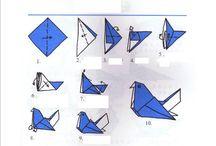 Origami / Origami folds / by Jacquelyn Scieszka