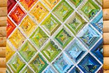 scrappy quilts / by Frieda Anderson