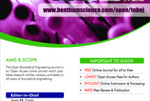 Bentham Open Access / BENTHAM OPEN publish over 230 plus peer-reviewed open access journals. These free-to-view online journals cover all major disciplines of science, technology, medicine and social sciences. / by Bentham Science Publishers